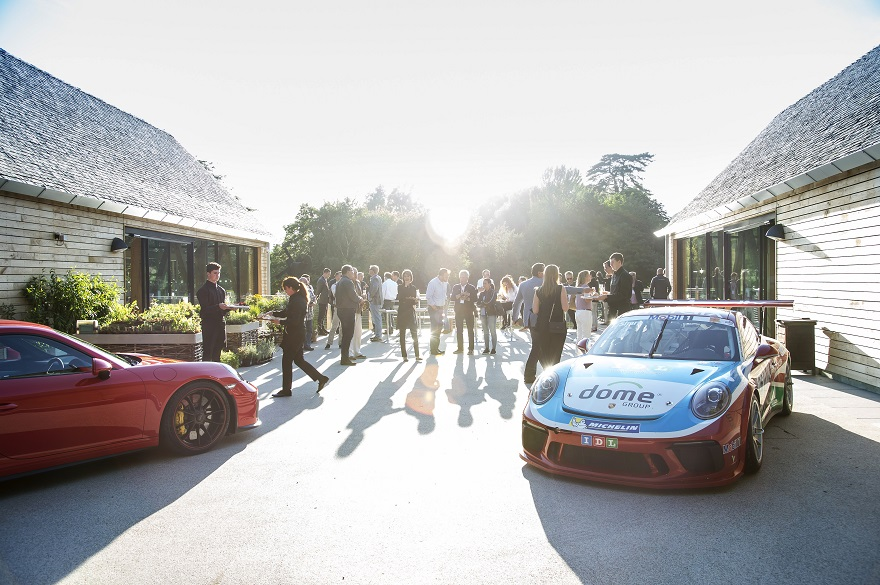 Porsche display at Gateway Project