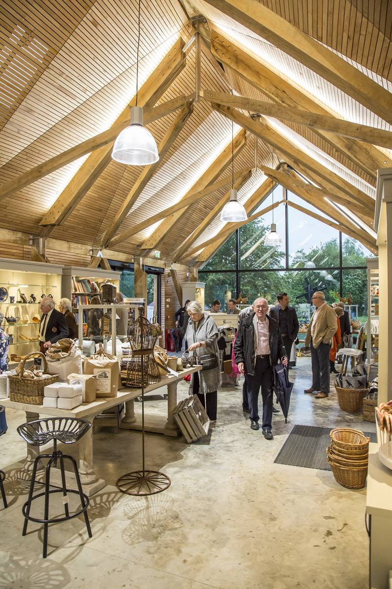 Weald & Downland Living Museum gift shop within visitor centre