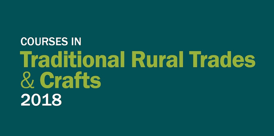 Courses in traditional rural trades and crafts Weald and Downland Living Museum