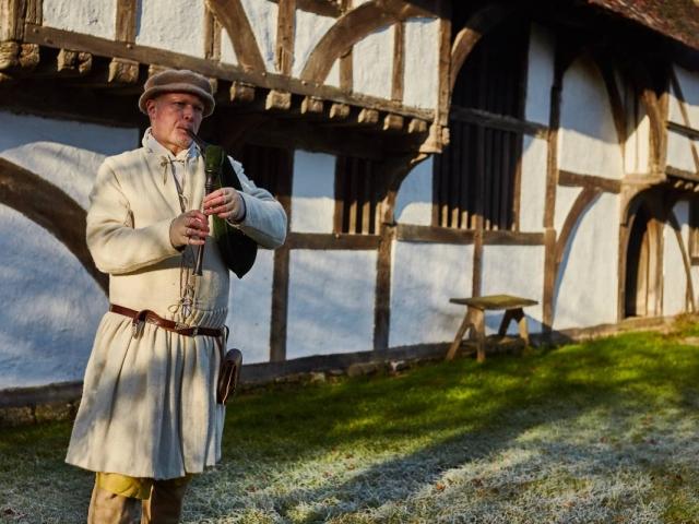 Weald & Downland Living Museum - Tudor music - Christmas 2016
