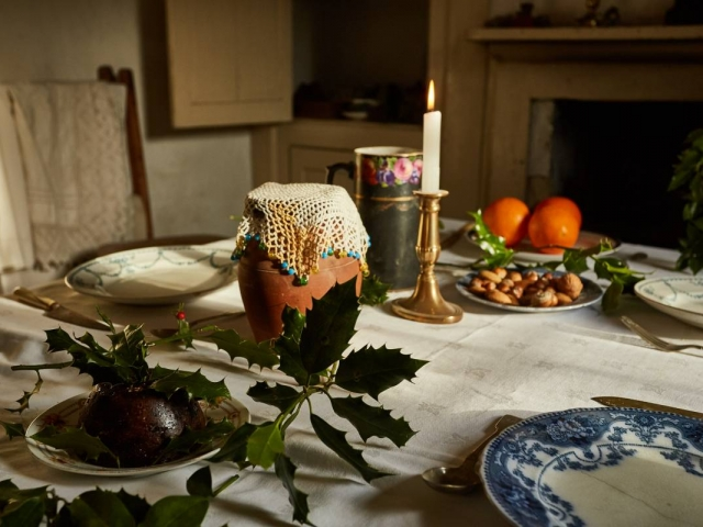 Weald & Downland Living Museum - Victorian food - Christmas 2016