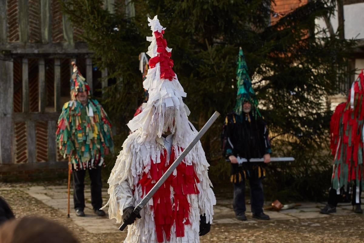 Weald & Downland Living Museum - Mummers' plays - Christmas 2016