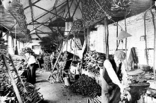 Lintott's walking stick factory
