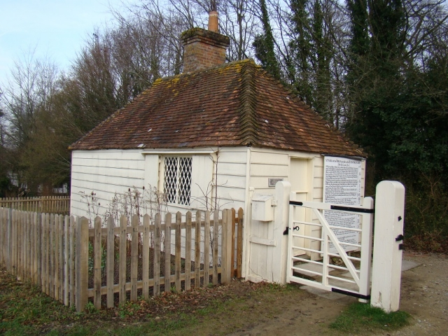Toll House re-erected at the Museum