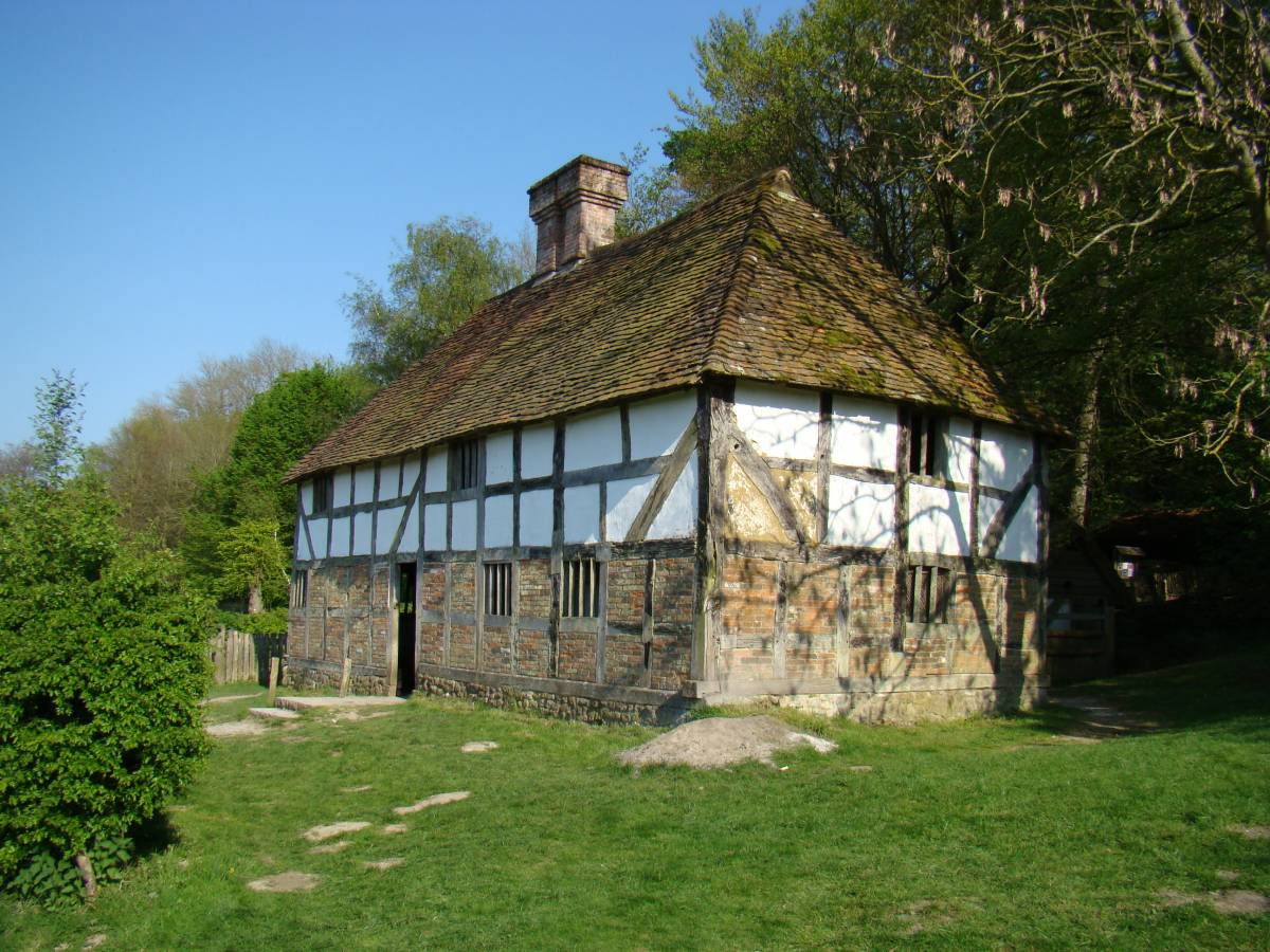 Pendean Farmhouse at the Museum