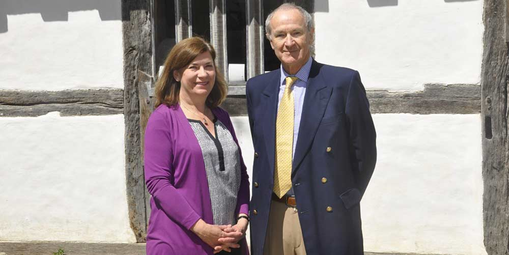 Jo Pasricha and Paul Rigg