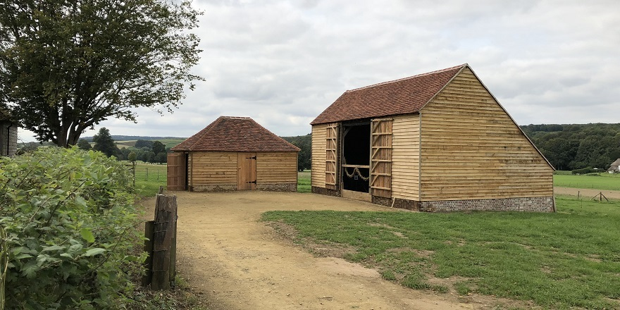 May Day barn and stable at the Weald & Downland Living Museum