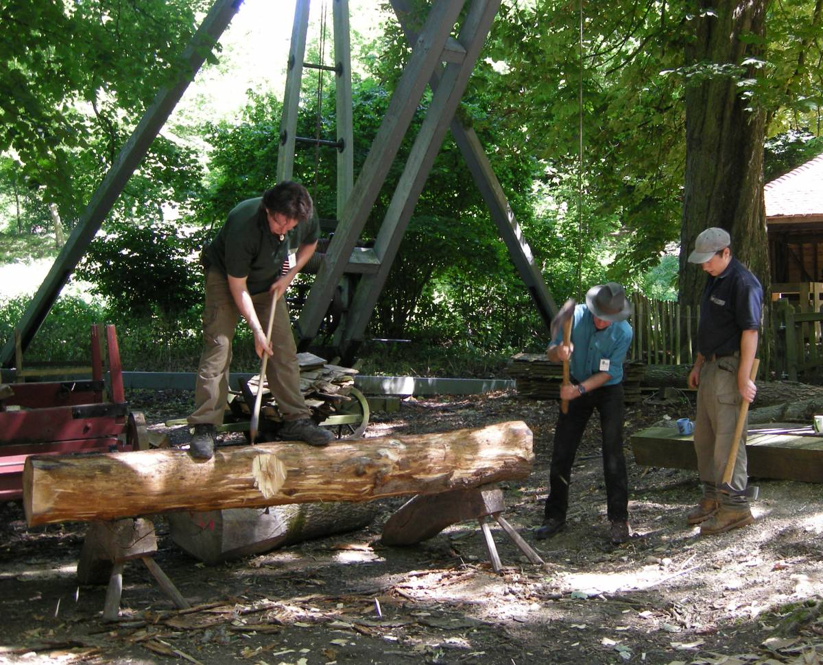 Historic Life Weekend: Wood Crafts & Uses