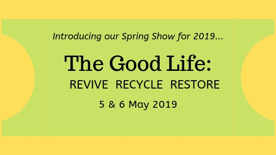 The Good Life: Revive, Recycle, Restore