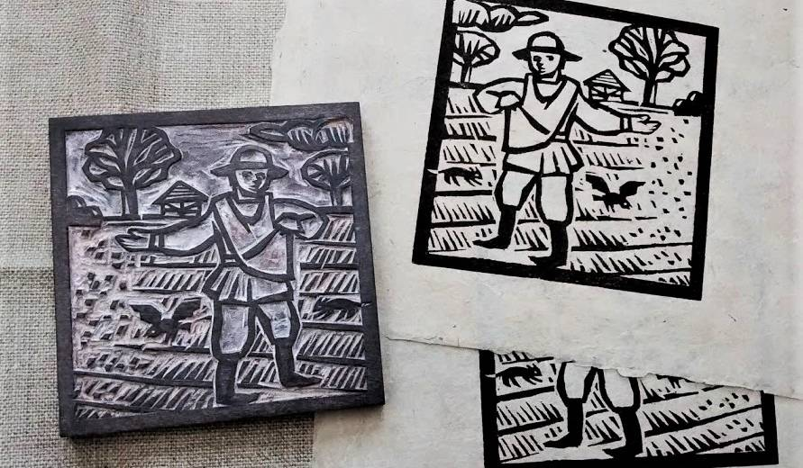 Medieval printmaking | Weald and Downland