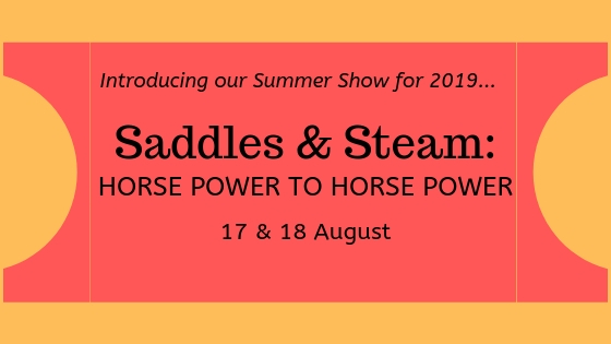 Saddles & Steam: Horse Power to Horse Power