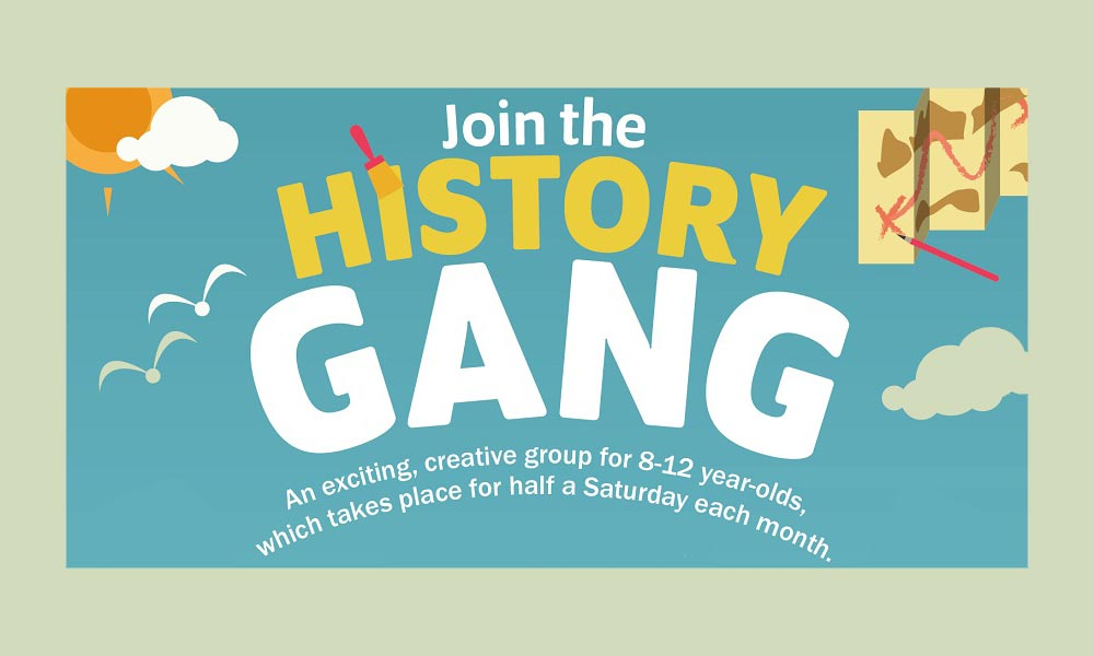 Join our History Gang poster