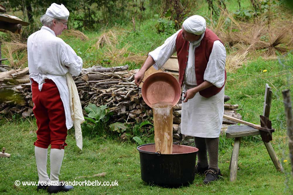 Traditional brewing process