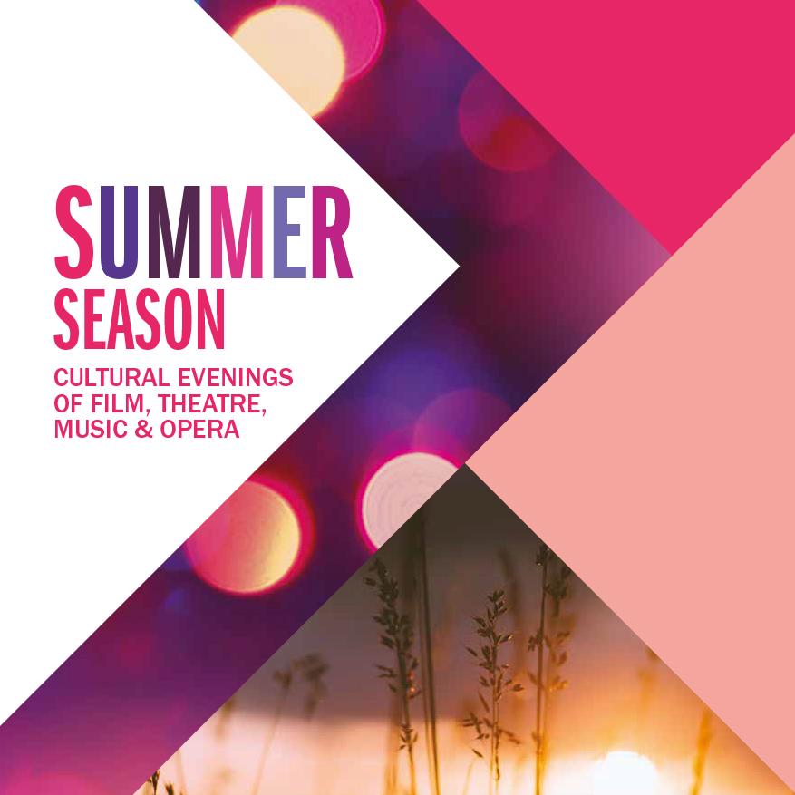 Summer Season artwork in bright colours