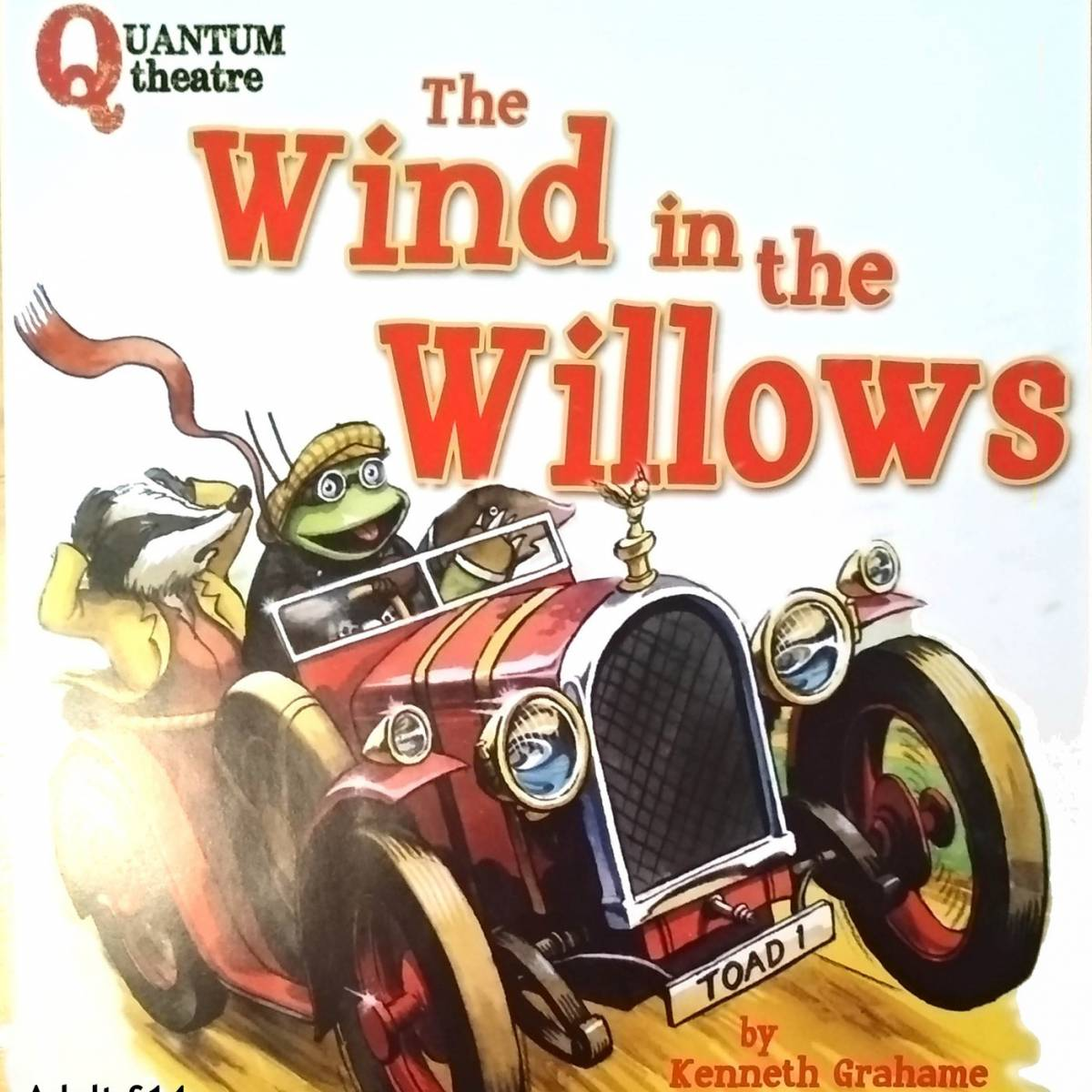 Image of The Wind in the Willows of toad driving a car