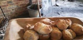 bread in bakehouse