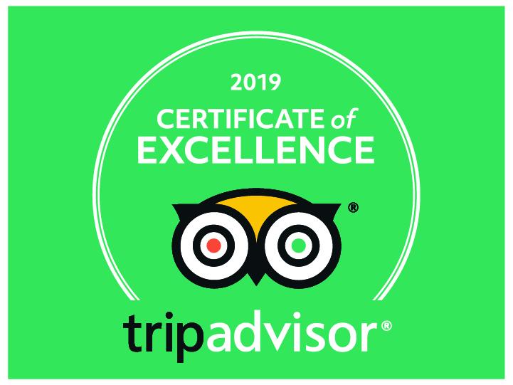 tripadvisor cert of excellence 2019