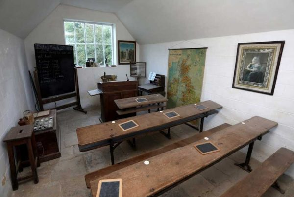 Victorian school classroom at Weald & Downland Living Museum