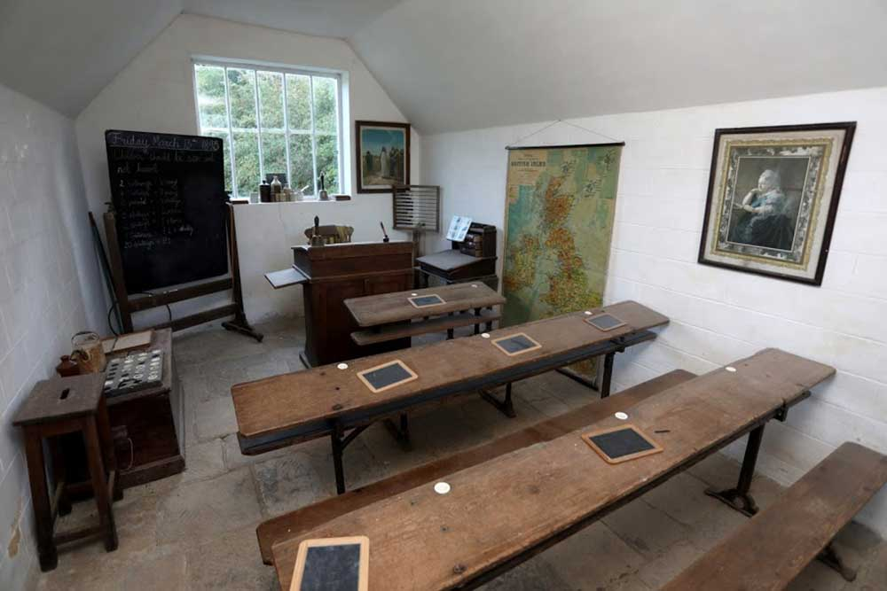 Victorian school classroom at Weald & Downland Living Museum