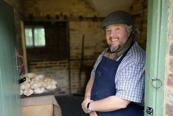 The bakehouse at the Weald & Downland Living Museum