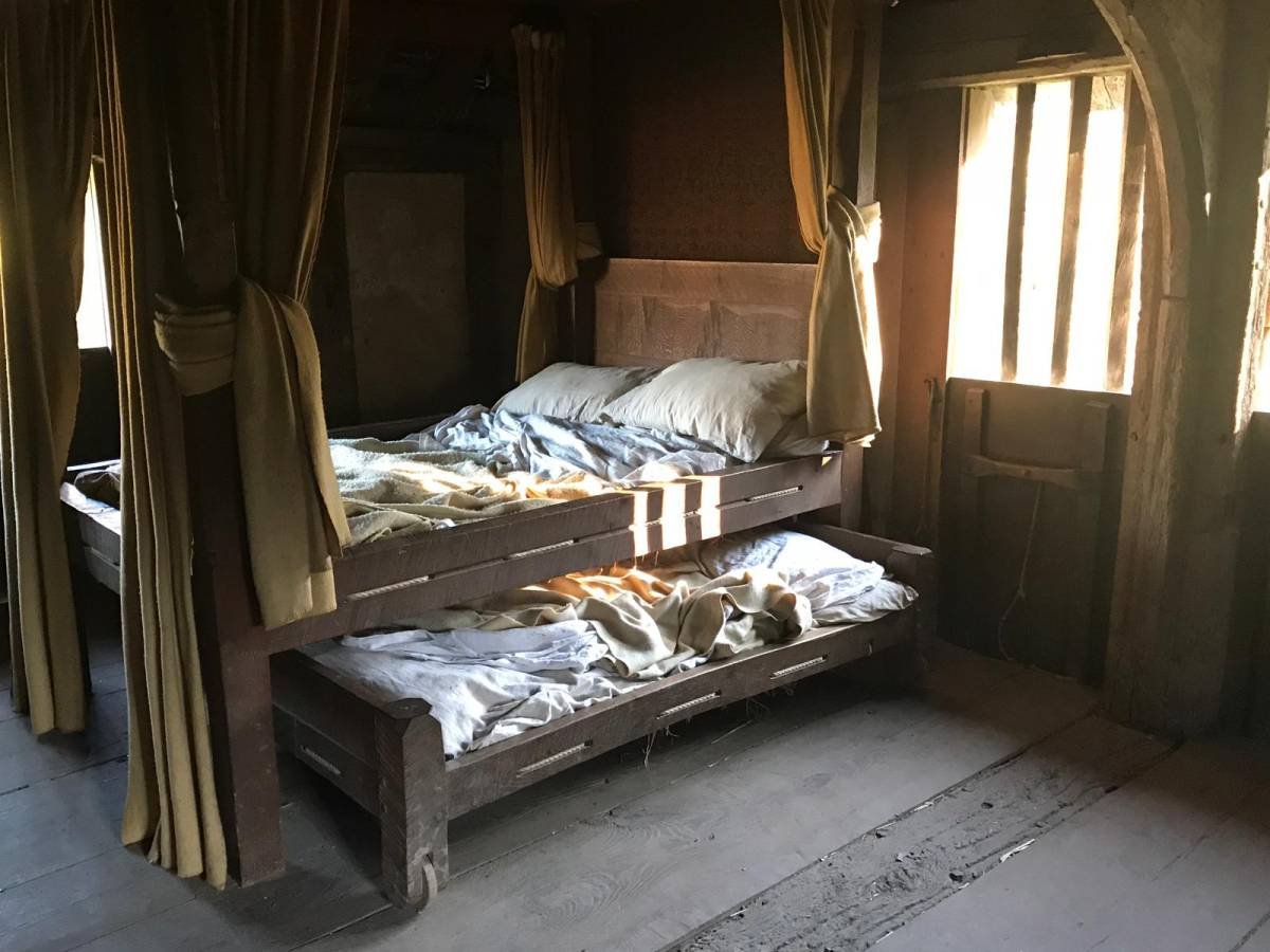 Tudor farmhouse family bedroom