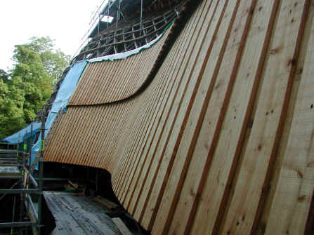 Gridshell cladding