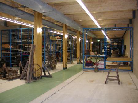 Gridshell basement