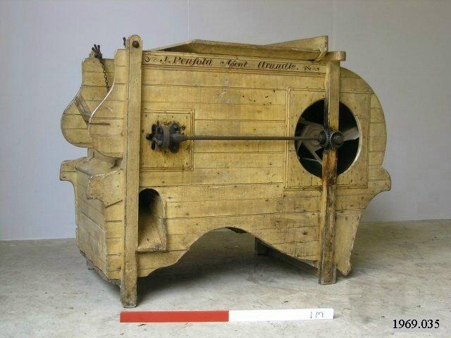 Barn machinery winnower
