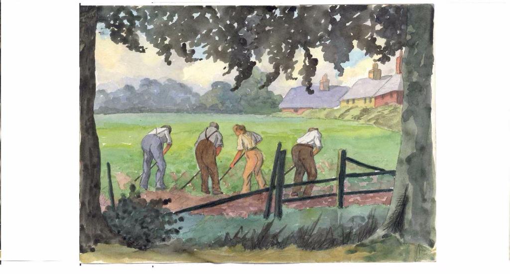 Land management painting
