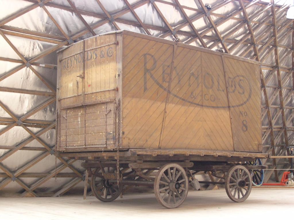 Reynolds & Co. container van