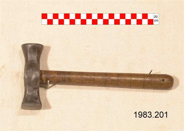 Tinsmithing hammer