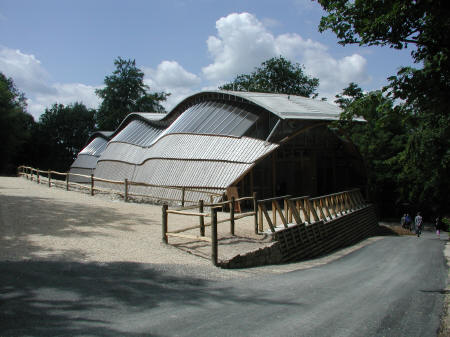 Gridshell exterior