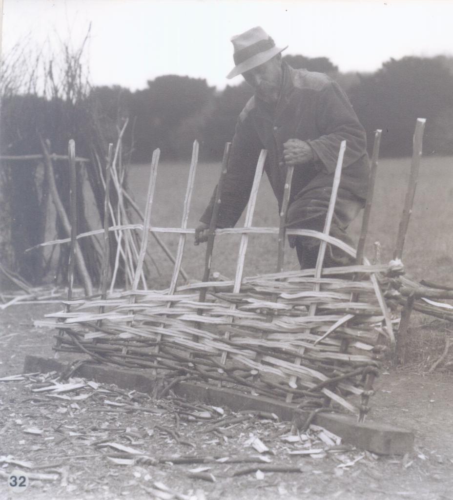 Woven hurdles