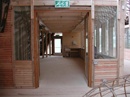 Gridshell interior