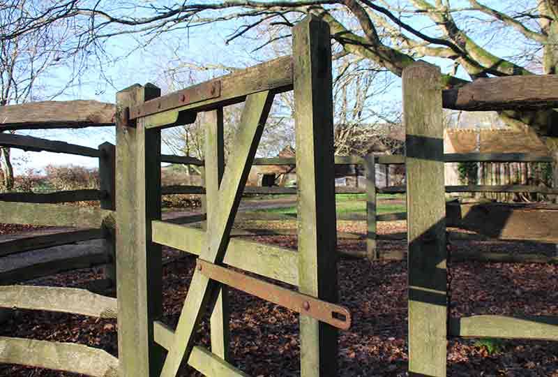 Animal pound gate