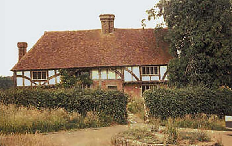 Bayleaf on its original site at Chiddingstone