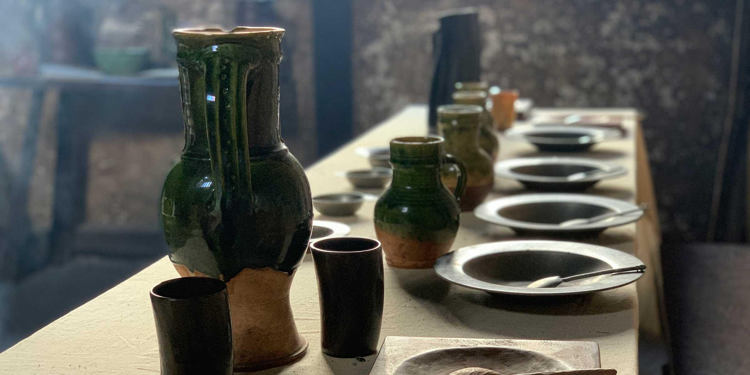 Bayleaf Tudor kitchen table