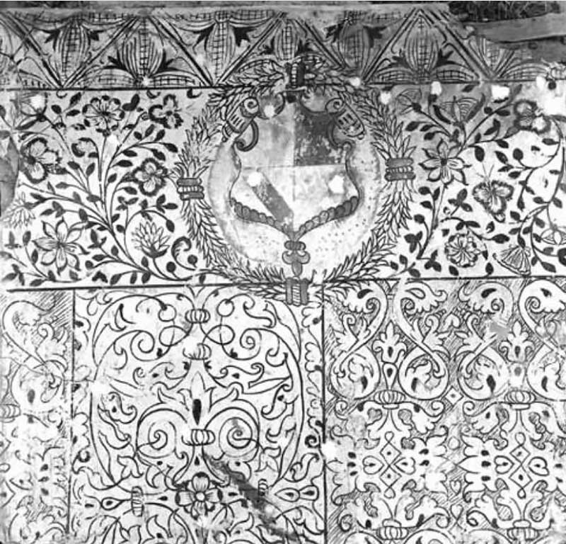 Fittleworth panels heraldic shield