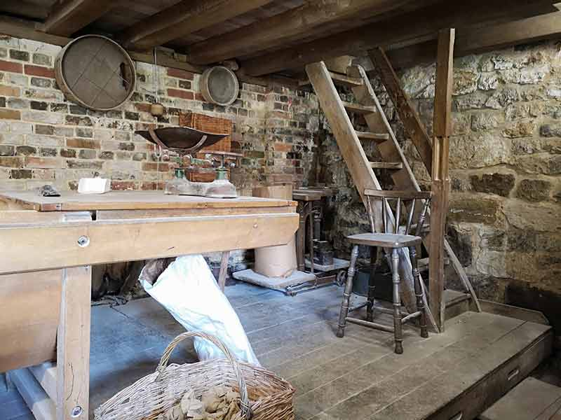 Inside Lurgashall Mill