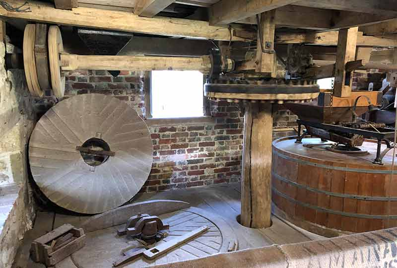 Lurgashall Mill interior