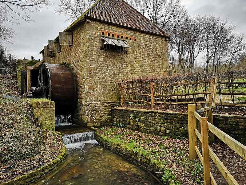 Lurgashall Mill waterwheel