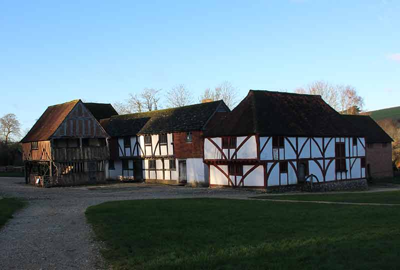 Medieval house at Weald & Downland Living Museum