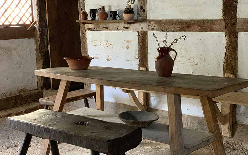 Poplar Cottage interior