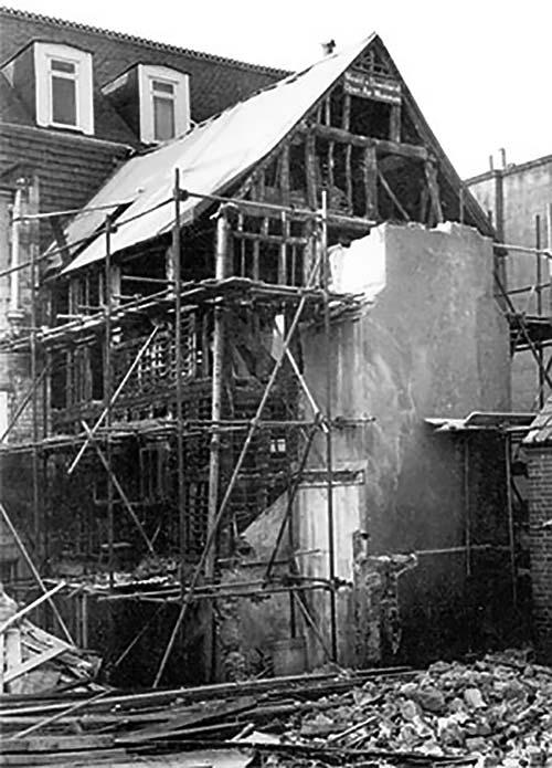 Reigate extension in situ in 1981