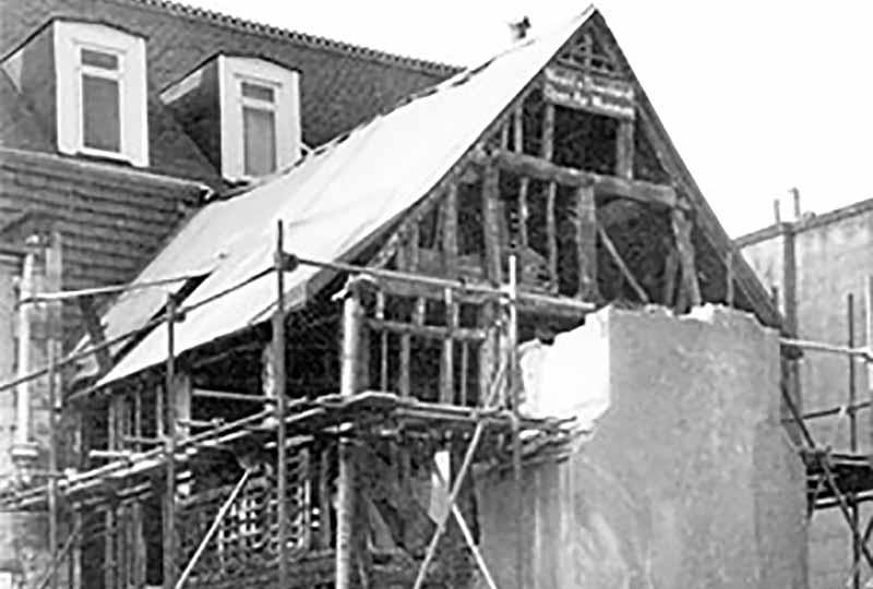 Reigate house demolition