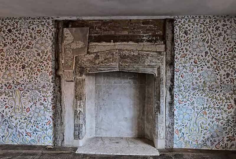 Reigate Stone fireplace