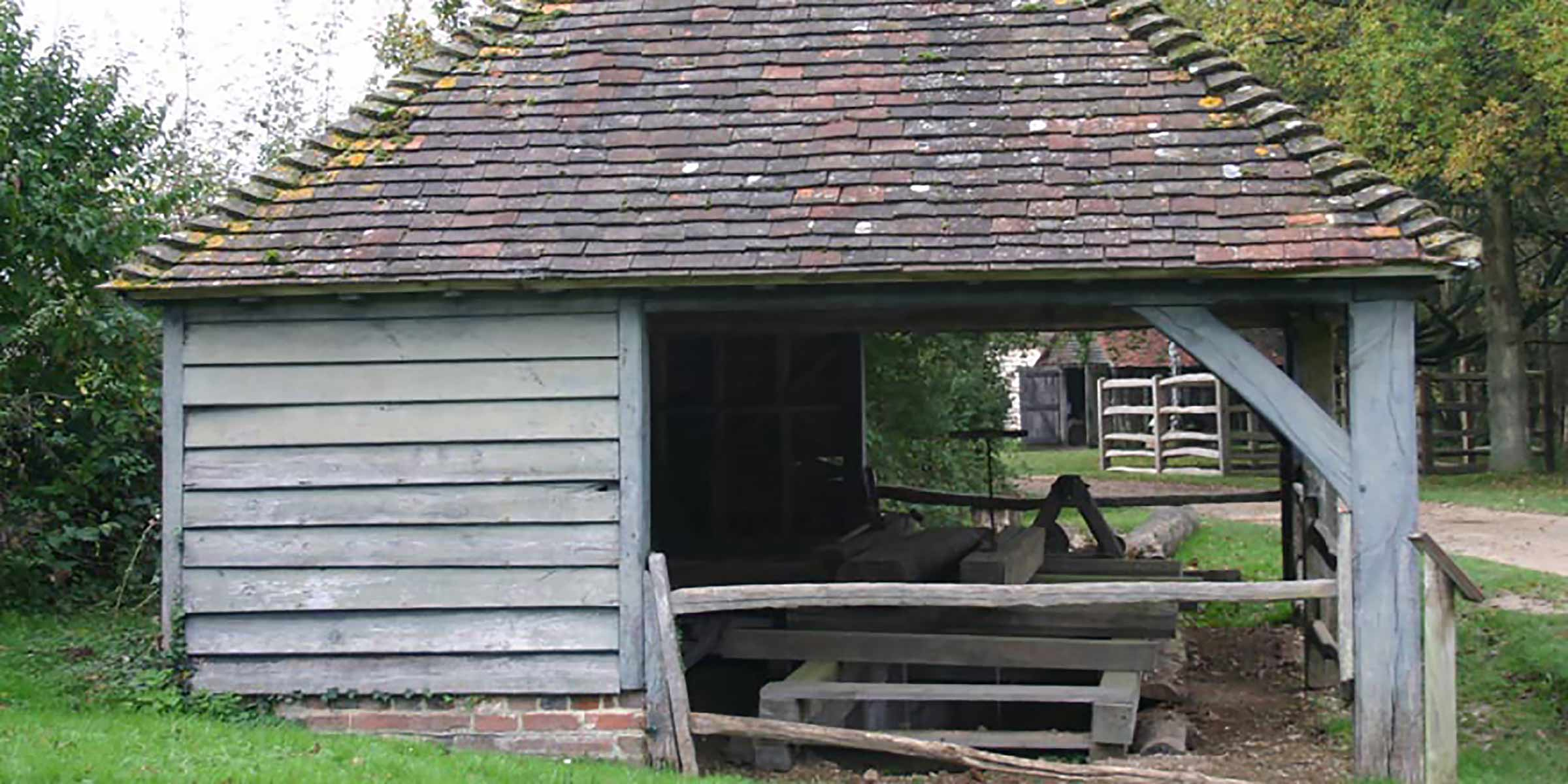 Sawpit Shed from Sheffield Park