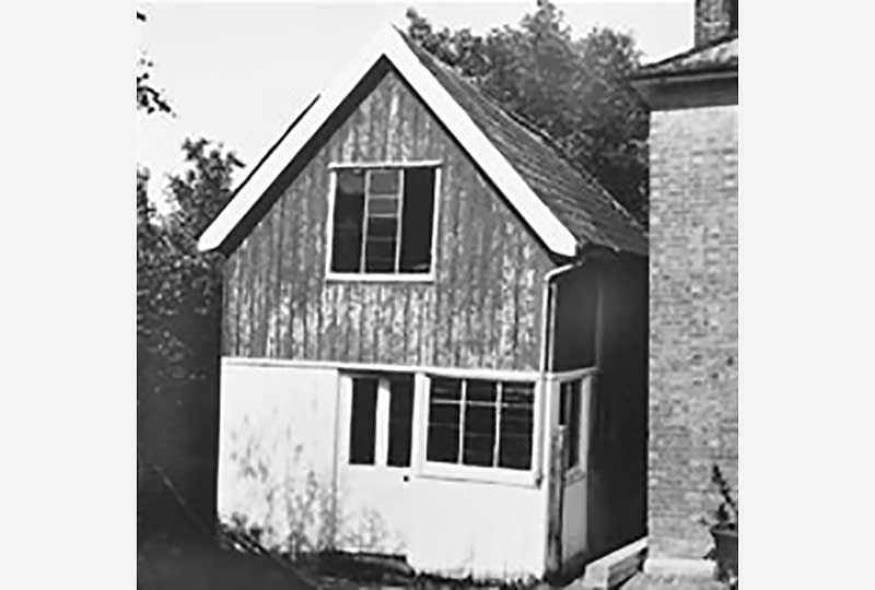 The Newick workshop on its original site
