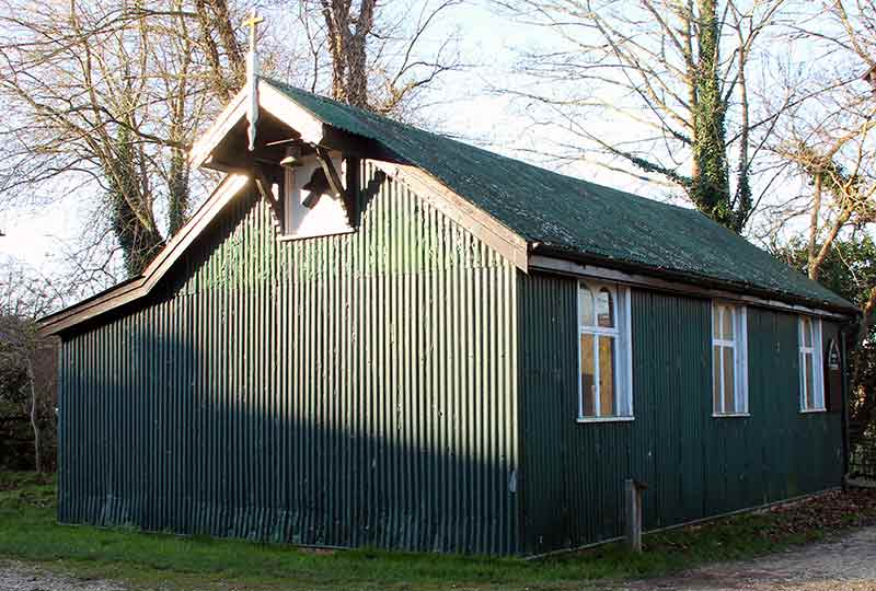 Tin church from South Wonston
