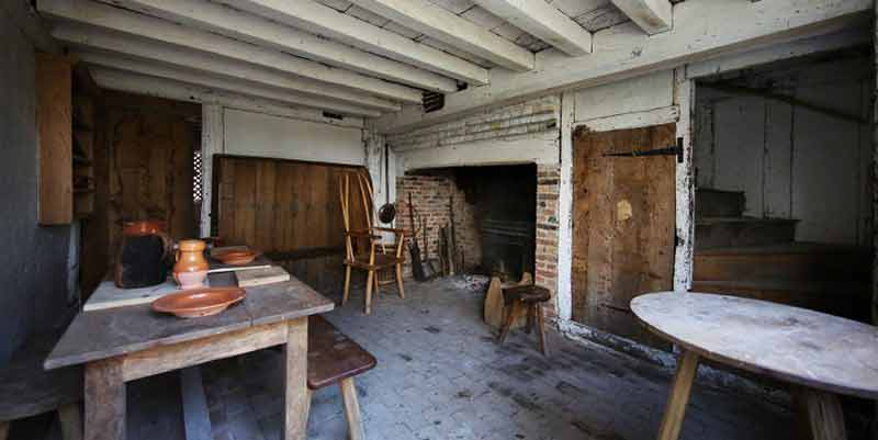 Tindalls Cottage downstairs